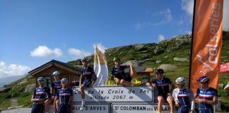image stage équipe de France en Maurienne